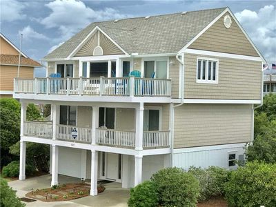 Photo for AS GOOD AS IT GETS: 3 BR / 3 BA second row ocean in Topsail Beach, Sleeps 8