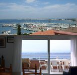 Loved it! The apartment is very light and beachy. The terrace was roomy with a view!