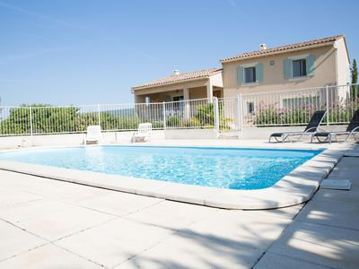 Photo for Independent new house in provence in the Luberon with private swimming pool