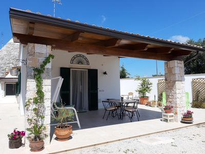 Photo for Trullo Ai Cento Sassi, relaxation in the Apulian countryside in a typical rural house