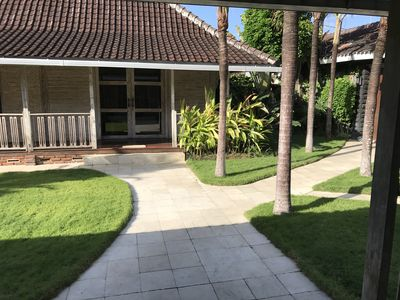 Photo for Sumptuous Guest House in Balinese Villa with Lush Garden and Pool
