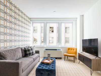 Photo for Sonder | Wall Street | Playful 1BR + Lounge