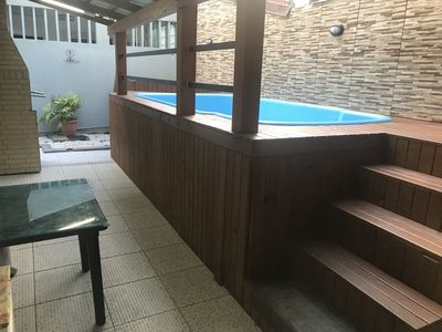 Photo for HOUSE17 CENTRAL PEOPLE / 5 BEDROOMS / AIR / 4 SPACES / POOL / BILLIARDS / WIFI /
