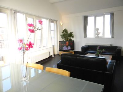 Photo for Penthouse Apartment with Balcony in Amsterdam Center – G