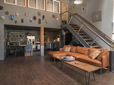 Photo for Sunny, Art-Filled Oakland Loft