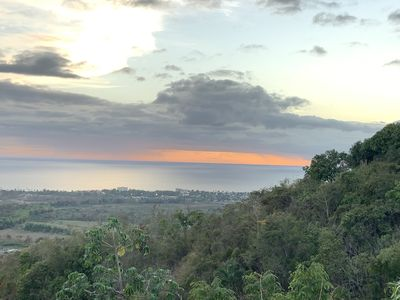 Expect to enjoy fantastic sunsets- (view from the house)