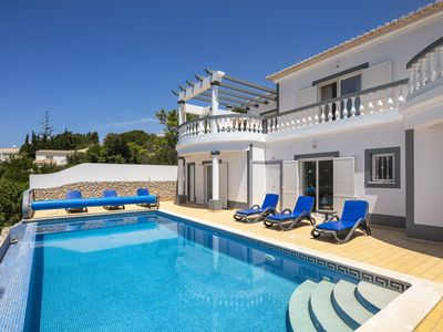 Photo for Nº23 Golfe Santo Antonio - Beautifully furnished 3 bedroom Villa with pool, sea and golf views!