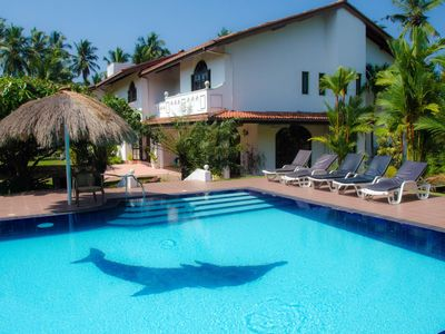 Photo for Superb Villa with pool, close to the beach in Sri Lanka