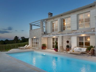 Photo for Modern Moonlight Villa, in Istria, with a Pool