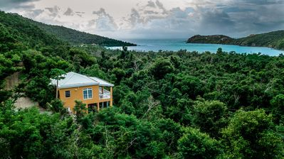 Photo for Turtles Nest · New Fish Bay Cottage - Stunning Ocean Views - 24/7 Concierge!