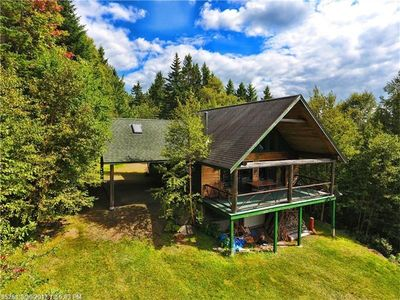 Photo for Located in Rangeley Highlands near town with sunset views of Rangeley Lake!