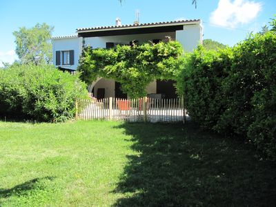 Photo for Uzes walk. Ground floor of a farmhouse, surrounded by a large garden