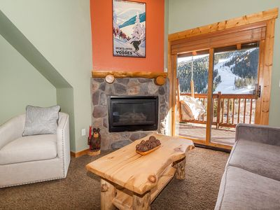 Photo for Slope Views, Near Lifts, Private Laundry & Balcony, Free WIFI
