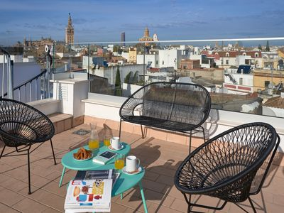 Photo for Elegant and confortable duplex for 4 people with an exterior terrace