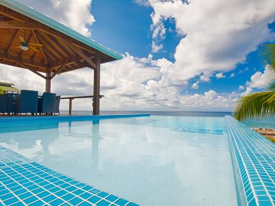 Photo for No Rental Car needed - Infinity Pool - Spectacular Sunsets - Luxury Living