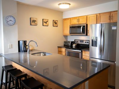 Photo for 1Br Okemo Mtn Lodge- Remodeled Kitchen & Vintage Ski Decor