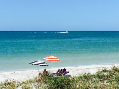 just a few steps from your private beachfront cottage ... ENJOY  and  take in th