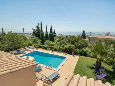 Photo for Nice holiday in the Algarve with private pool and sea view in Albufeira