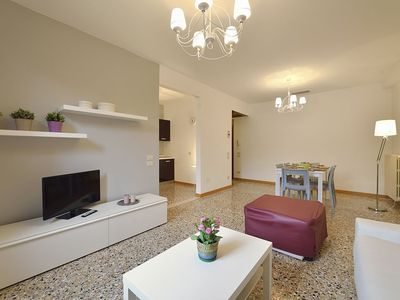 Photo for APARTMENT WITH 2 BEDROOMS, CANAL VIEW AND FURNISHED GARDEN - WASHING MACHINE & DRYER