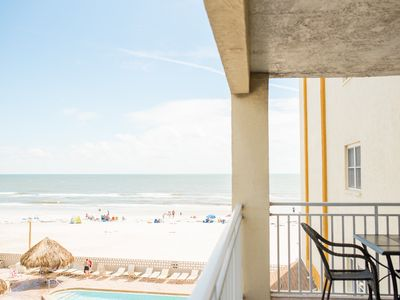 Watch dolphins play from our large three bedroom. 203