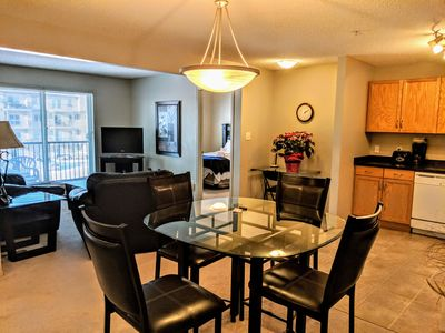 Photo for Bright Clean 2 bed 2 bath, U/G parking, 1 min away from transit hub