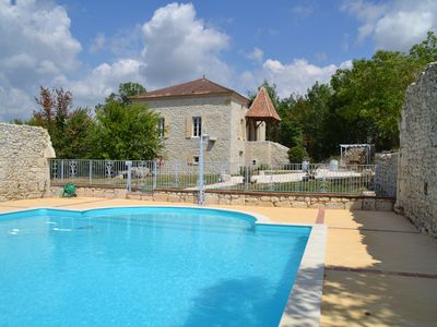 Photo for Master house with swimming pool sleeps 17 near a small village of 82