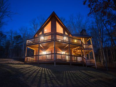 "Photo for Featured on HGTV's ""Log Cabin Living"" - The Cedar Shack :: Book Today!"