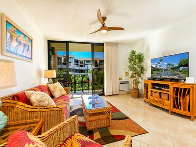 Photo for West Maui Perfection! Kitchen, Lanai, WiFi, AC, TVs, DVD+Laundry–Kamaole Sands 8206