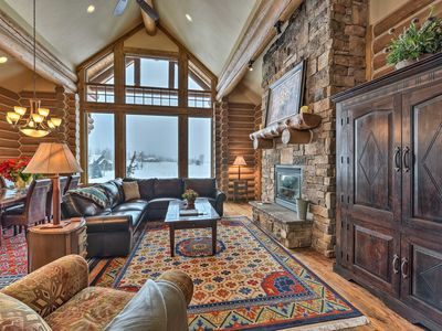 Photo for Cozy Cabin w/Hot Tub - Steps to Tetons Springs Spa