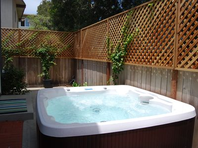 Photo for Oct. Special $109/Night! Condo 1 Block to Beach w/Hot Tub! Near Village!