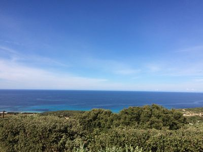 Photo for IMPREGNABLE AND QUIET SEA VIEW VILLA IN ILE ROUSSE