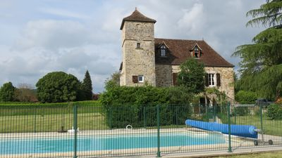 Photo for SUPERB 12TH CENTURY VILLA. PRIVATE POOL. SECLUDED GARDEN. NEAR MARTEL, THE LOT.
