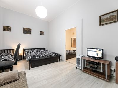 2B apartment Prague Letna for 2 - 7 pers., free private parking