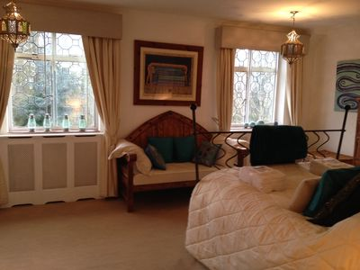 east district house rental master bedroom can accommodate 3rd guest with addition of single