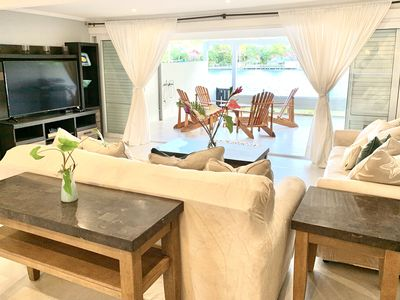 Photo for Waterfront 3-Bedroom in the Heart of Rodney Bay