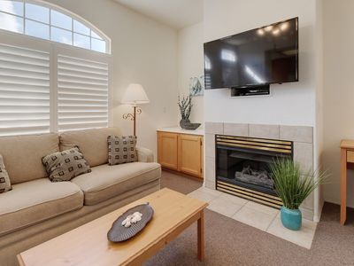 Photo for Welcoming condo only a short distance from beach w/ shared hot tub!