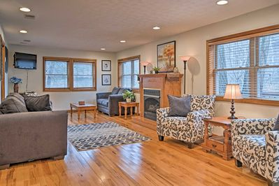 Plan your next West Virginia getaway to this charming 2-bedroom, 1-bath vacation rental house in Elkins!