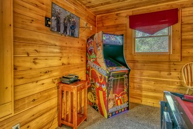 60+ Video Arcade Game - Multicade starring Pacman, Donkey Kong, Galaga & more like this one is featured at #12 Life of Luxury. Newly installed in 2019! Reserve today!