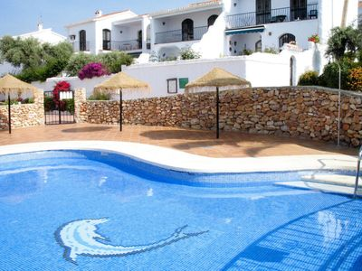 Photo for One bedroom Apartment, sleeps 4 in Nerja with Air Con and WiFi