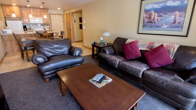 Photo for Cozy Alpine 1 Bedroom Retreat view off Balcony of Historical Downtown Park City