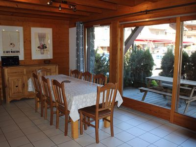 Photo for Chalet Negritelles 2 - Ski Chalet centrally located, footsteps to ski slopes, lifts and ski Schools