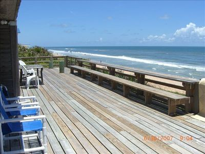 Beachfront Home on 100 Foot Lot Directly on Ocean