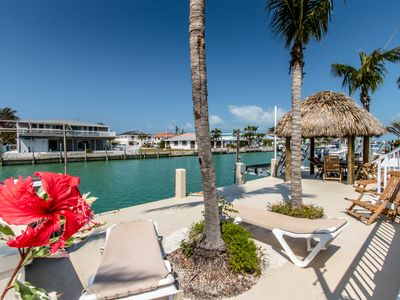 Photo for Caribbean Fantazy 3bed/3bath with Private Pool with Tiki on Key Colony Beach