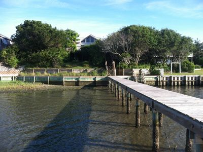 Photo for Sundowner - Soundfront 3 bedroom 2 bath home on Emerald Isle, NC!