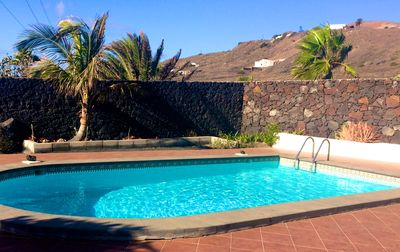 Photo for Wonderful views of the sea and the volcanoes. Casa Isabel