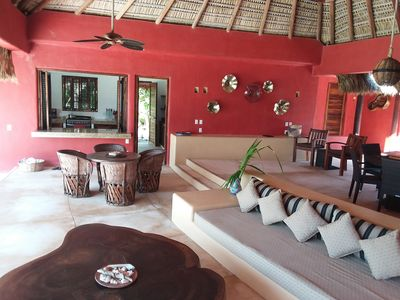 Photo for CASA CHULA-OCEANFRONT.  NEW PRICING: 1 PRICE/MAX 8 PEOPLE !