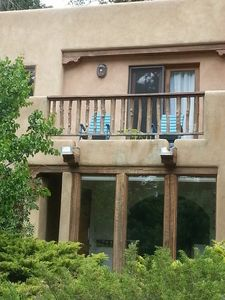 Photo for Charming Santa Fe Style 2br 1.5ba vacation condo off the Taos Plaza