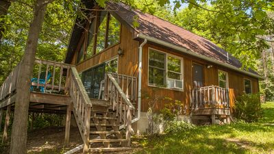 """Photo for Chalet on the Lake:""""The Ideal Romantic Seneca Lake Getaway"""""""