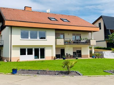 Photo for Idyllic apartment in the southern Black Forest (110m2)