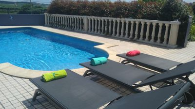 Photo for Wonderful Villa with Pool and a nice Garden 5km to the Beach